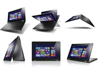 Lenovo Yoga 13 Intel i7 3517u 1.9, 4gb, 128 SSD Convertible TouchScreen Laptop UltraBook Tablet