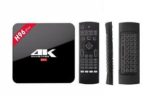 Save on Cable - Plug and play ready with Live TV - Android TV Box Kodi Box-4K-Android Boxes-Free MX3 Remote