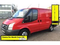 Ford Transit 2.2 260 SWB ,1 Owner From New, Full Service History -13 Stamps ,1YR MOT, Warranty,86K,