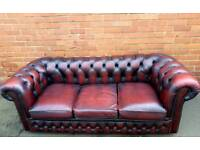 Vintage Chesterfield Sofa.Delivery Available