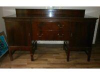Large Traditional Mahogany Sideboard £50