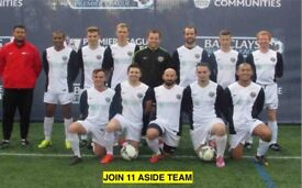 2 STRIKERS AND 1 DEFENDER WANTED, SUNDAY 11 ASIDE, SATURDAY 11 ASIDE, FIND A FOOTBALL TEAM