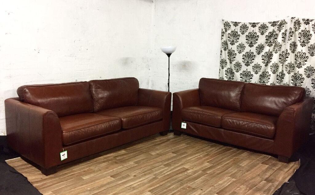 New Furniture Village Decoro 3 2 Seater Sofas Free Delivery