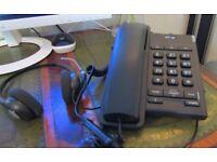 Plantronics SupraPlus HW261N Binaural Headset Plug in Phone & BT Converse 2100