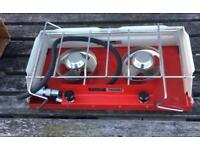 Tilley Twosome Gas Double Ring Stove Old New Stock in box