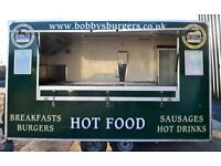 Catering trailers Portable Fitted