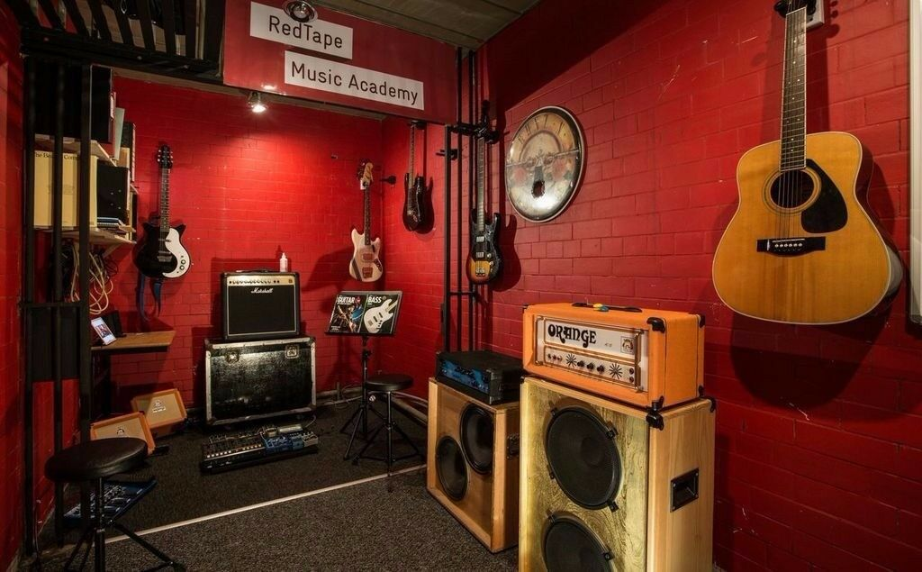 Guitar Lessons @ Red Tape Music Academy. Music