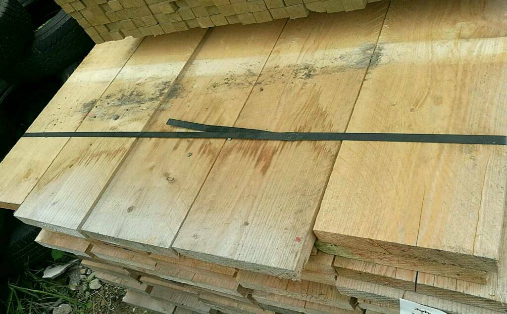 Sawn Boarding (225mm x 38mm) 3.9mtr Lengths