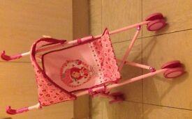 Strawberry Shortcake Dolls Buggy