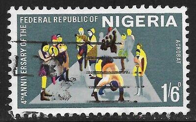 Nigeria  (1967)  - Scott #  212,   Used