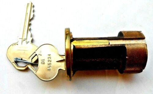 "Vintage NOS  RUSSWIN  2""  Mortise   Cylinder Door Lock  with 2 keys    RARE!!!"