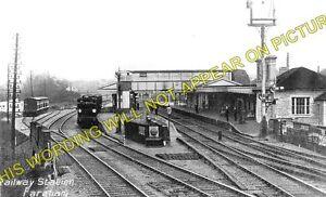 Fareham Railway Station Photo. Botley to Cosham and Gosport Lines. L&SWR