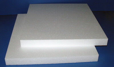 96 EXPANDED POLYSTYRENE PIECES IN EHD GRADE 260 X 260 X 25MM