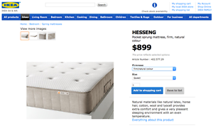 Queen-size firm pocket sprung mattress North Adelaide Adelaide City Preview