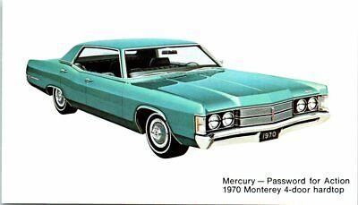 Postcard 1970 Montego Hatchback Mercury Vintage VTG Advertising Car Auto Ad C5