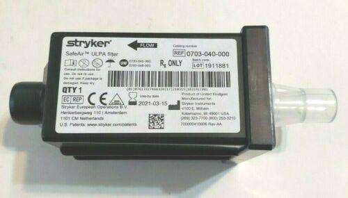Stryker 0703-040-000 Smoke Evacuator SafeAir ULPA Filter Medical Surgery Filter