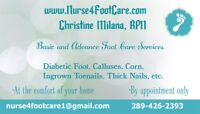 $50 Mobile Foot Care Services