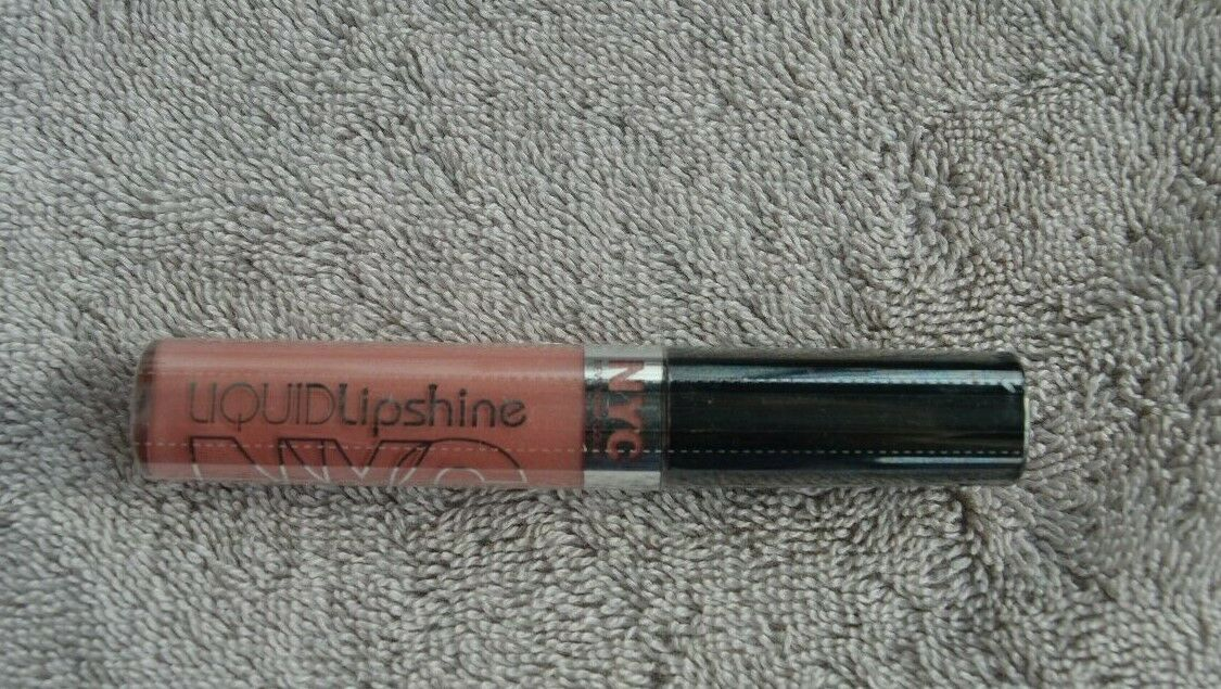 N.Y.C. LIQUID LIP SHINE LIP GLOSS #576 PROSPECT PINK