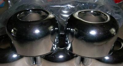 2 Pcs: Deep Escutcheon 1-1/2 OD Tubular, Chrome Plated Cover ~ Proplus or EMS