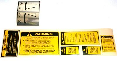 Ford Tractor Safety Pto Decal Set 2000 3000 4000 5000 2600 3600 4100 4600 5600