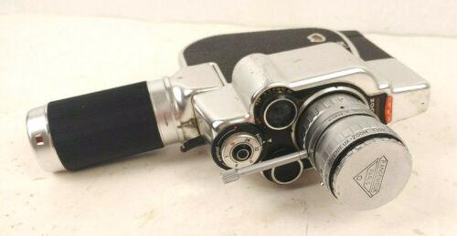 Vintage Carena Zoomex 8mm Film Movie Camera Pierre Angnieux Lens Working