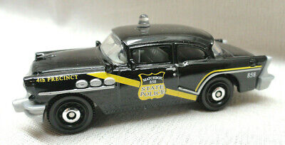 2018 MATCHBOX LOOSE, BLACK 1956 BUICK CENTURY MB 858 STATE POLICE CAR, NEW