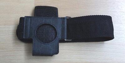 100% Orig. GUCCI IPod Armband Sportband Jogging Halter echtes Leder Schwarz NEU Leder Ipod Armband