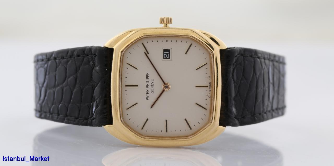 Patek Philippe Ref# 3761 18k Yellow Gold Wristwatch - watch picture 1