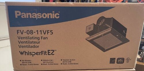 Panasonic WhisperFit EZ 80/110CFM Ceiling Bathroom Exhaust Fan LED FV-08-11VF5