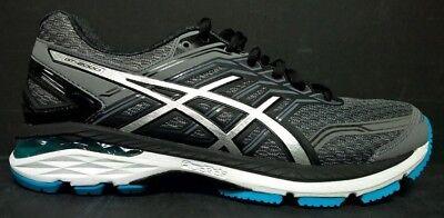 a182c87773e0 Asics Men s Size 7 T707N 9793 GT-2000 5 Running Shoes Gray Black White Blue