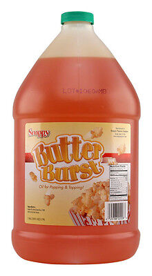 Popcorn Machine Supplies Butter Burst - Buttery Oil Or Topping - One Gallon