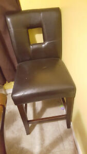 Faux leather Counter Stool/Chair