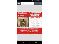 Fireplaces & Fires Fitting Service. Marble & Wood, Gas & Electric Fires at Reduced Price.