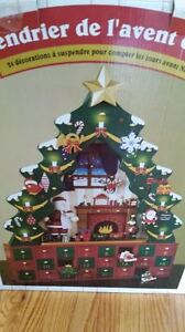 Wooden Advent Calendar Sarnia Sarnia Area image 1