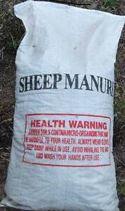 Sheep Manure 25 kg bags Stirling Stirling Area Preview