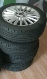 Fiat Punto Wheels & Road Legal tyres