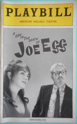 A Day in the Death of Joe Egg Eddie Izzard  Victoria Hamilton Playbill Open Nite