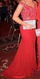 Red Virgos Lounge Formal Dress Size 10