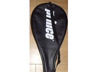 Squash Prince racket with cover,I also have other quality squash rackets available,bargain at £35