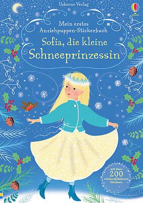 Mein erstes Anziehpuppen-Stickerbuch: Sofia, die kl. Schneeprinzessin 21.09.2018