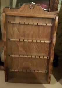 Vintage Souvenir Wood Display Rack - Made By THE SHELF SHOP.