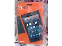 Amazon Kindle Fire HD 8 (7th Generation) 32GB, Wi-Fi, 8in - Red New in Box
