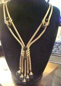 Gold Costume Jewelry Necklace