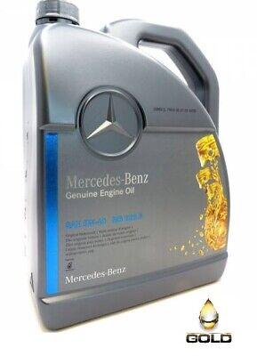 5w 40 Original Mercedes Benz Motoröl 5 Liter A000989920213AIFE MB 229.5