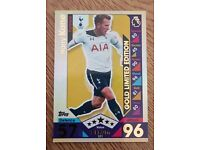 Harry Kane match attax 2016/17 gold LE