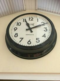 Electric Newgate Analog Wall Clock - The 50's Electric