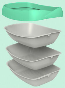 Luuup Cat Litter Box 3 sifting tray system