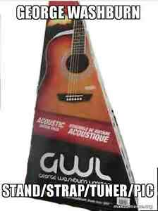 *New* George Washburn guitar entry level package possible