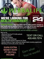LOOKING FOR HEALTH COACHES.