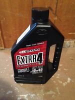 Maxum-4 extra synthetic 10w40 motorcycle oil